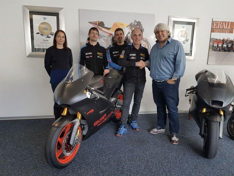 Moto2: UFFICIALE: accordo pluriennale tra Suter e Forward