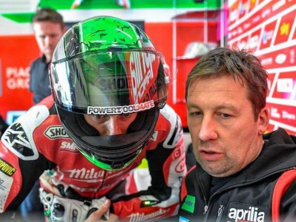 MotoGP: Laverty: l'Aprilia RS-GP è da podio