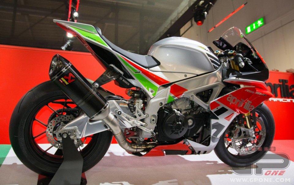 Moto - News: Aprilia: un motore 1100 per la RSV4?