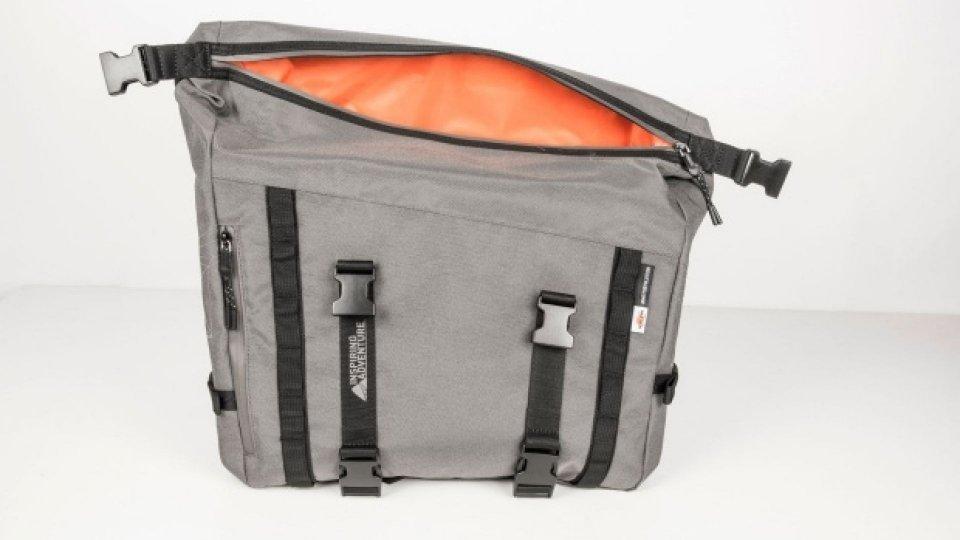 Moto - News: Kappa Inspiring Adventure, la nuova linea di borse morbide per tutte le esigenze