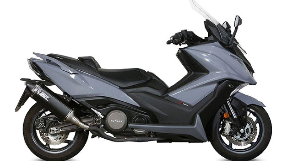 Moto - News: MIVV, nuovi scarichi per T-MAX e AK 550