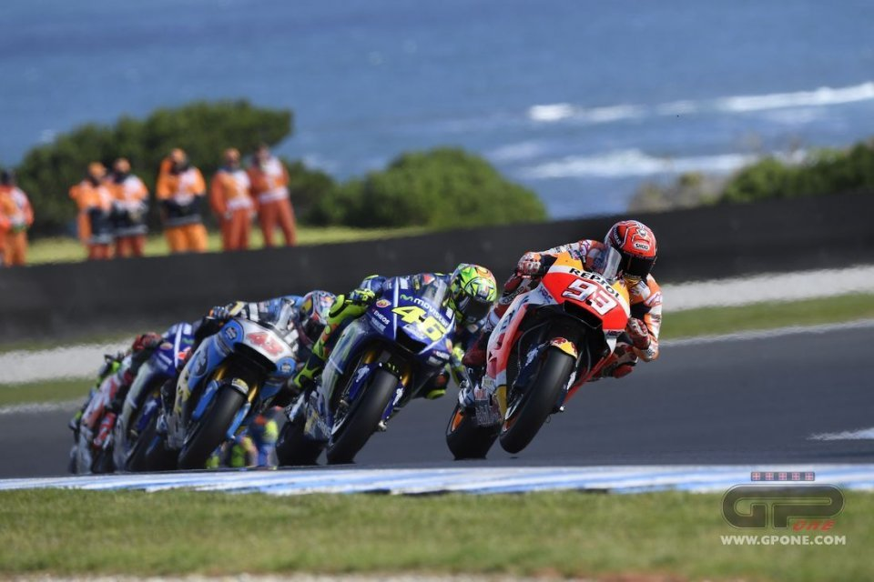 Australian GP: Rossi and Dovizioso lied to us