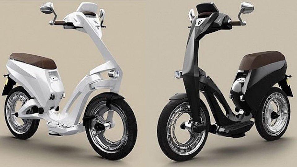 Moto - News: Ujet, lo scooter ripiegabile in mostra al CES 2018