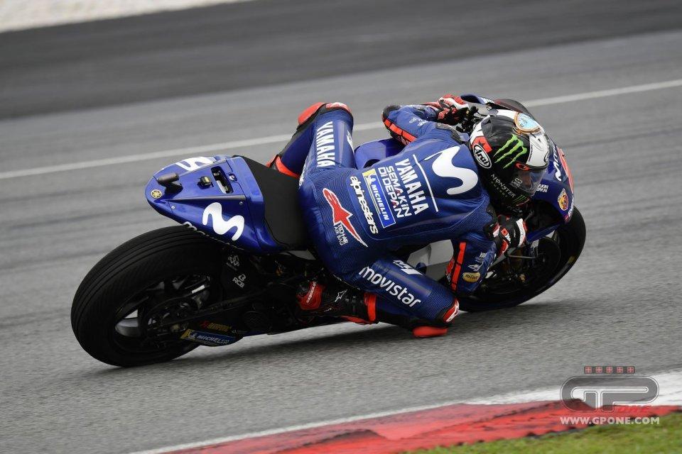 MotoGP: Test Sepang, doppietta Yamaha. E Rossi (2°) sorride