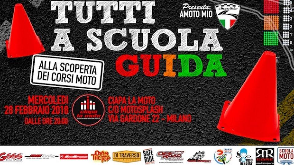 Moto - News: Ciapa la Moto: tutti a scuola... guida!