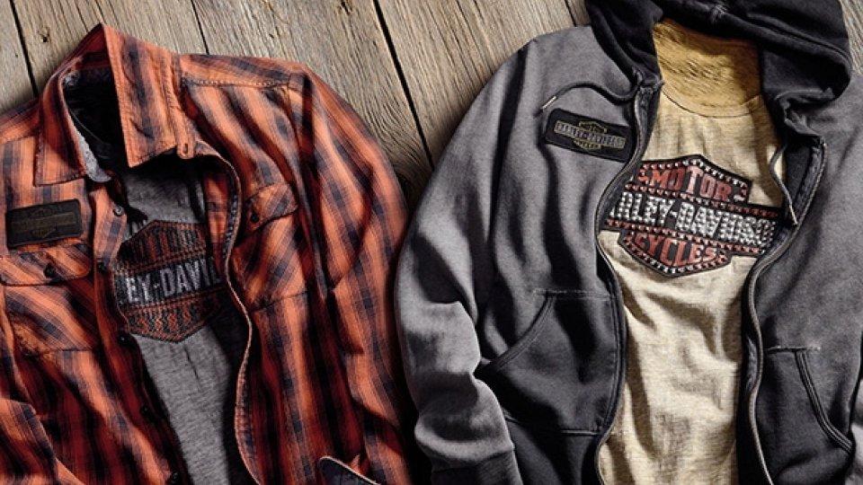Moto - News: Harley-Davidson, tre nuove linee di abbigliamento
