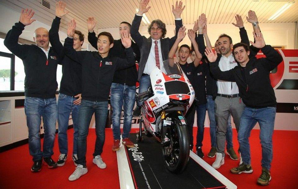 Moto3: The Sic58 team aims high with Antonelli and Suzuki