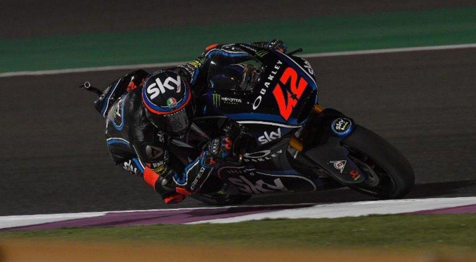 Moto2: Italians in Qatar: Bagnaia ahead of Baldassarri