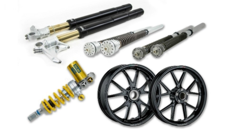Moto - News: Öhlins e Marchesini: nuovi accessori per la Ducati Panigale V4