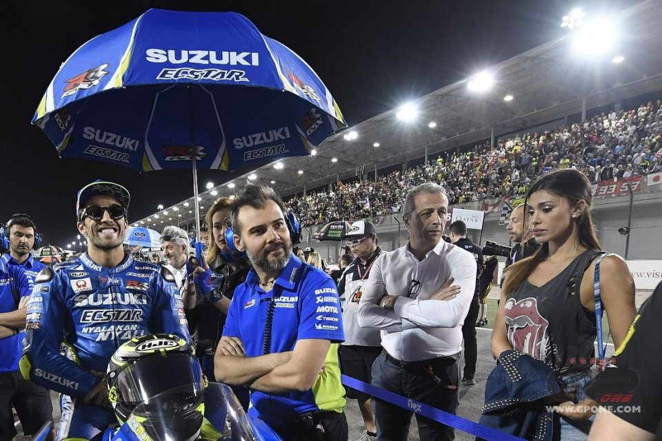 MotoGP: Belen: io e Iannone siamo due folli