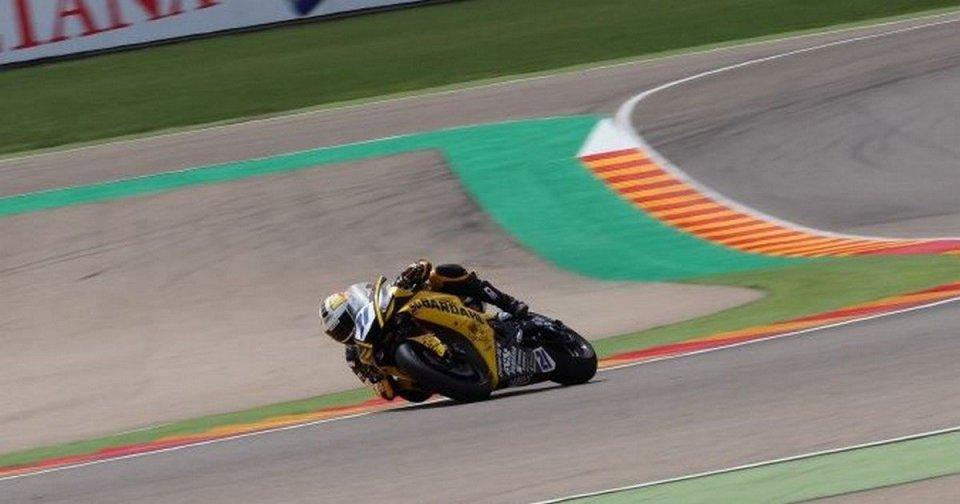 SBK: SS600: Krummenacher fa suo il warm up di Aragon