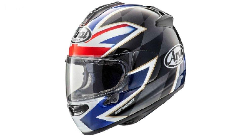 Moto - News: Arai Chaser-X League UK, omaggio alla velocità britannica