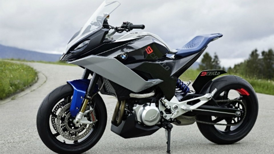 "Moto - News: BMW, a Villa d'Este sfila il concept ""9Cento"""