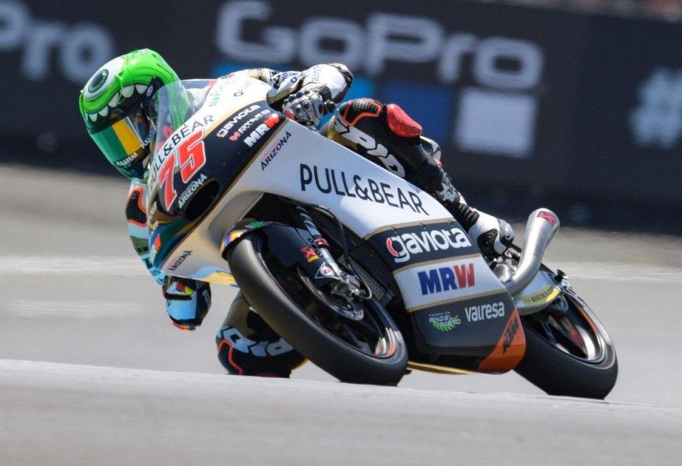 Moto3: Di Giannantonio 1° ma penalizzato, vince Arenas a Le Mans