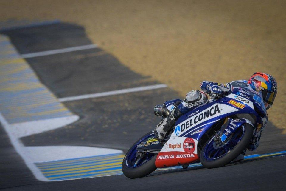Moto3: FP1: Martin subito in vetta a Le Mans, 3° Migno