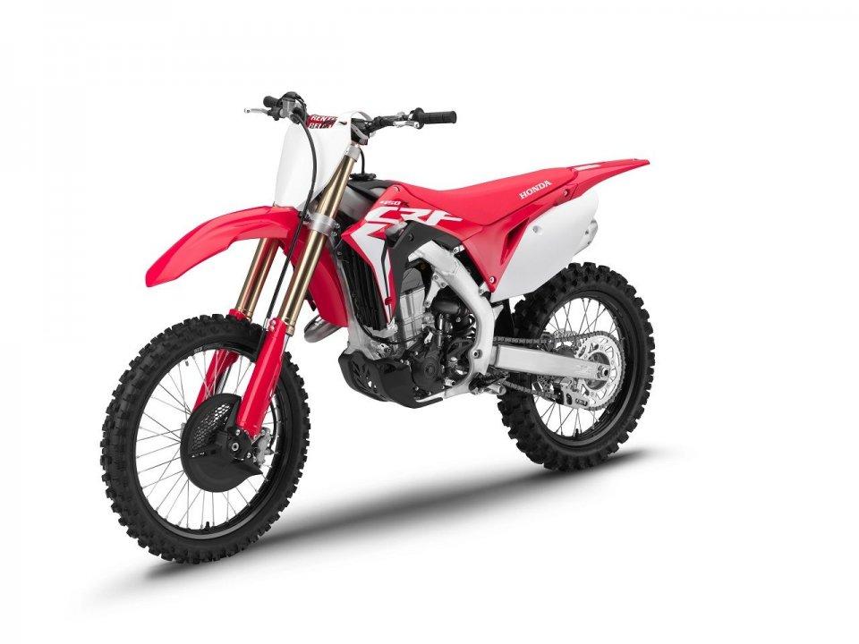 Moto - News: Honda CRF 2019: la gamma cross vanta due modelli nuovi