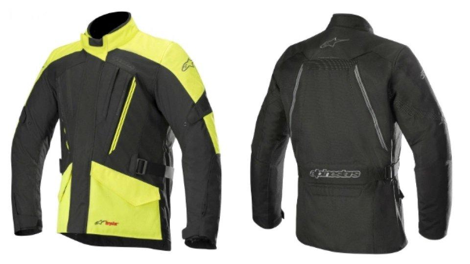 Moto - News: Alpinestars Volcano Drystar, la giacca sportiva che non teme il meteo