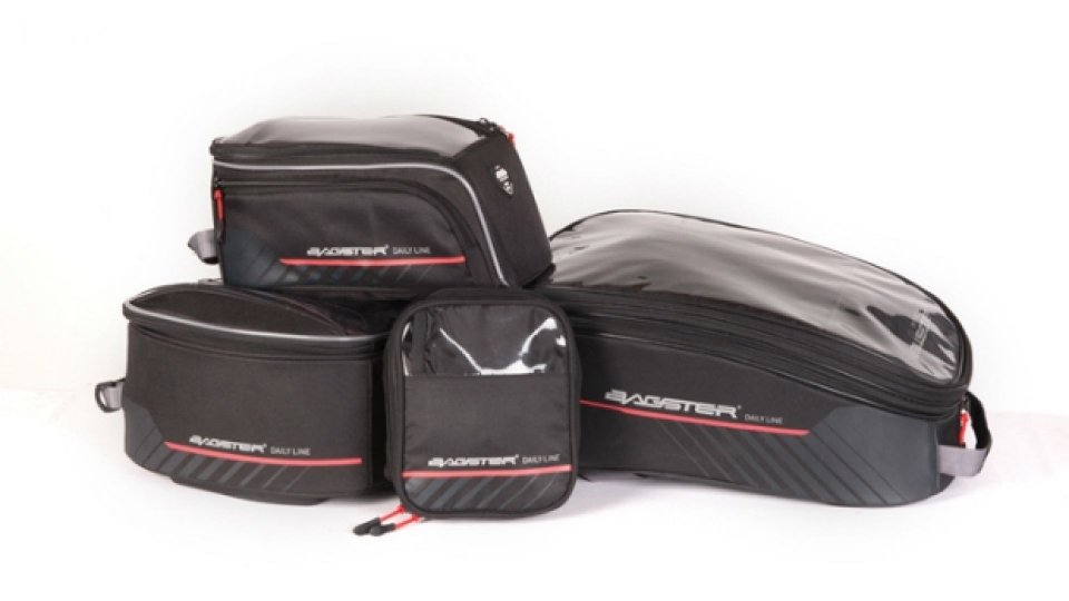 Moto - News: Bagster presenta le borse Daily Line