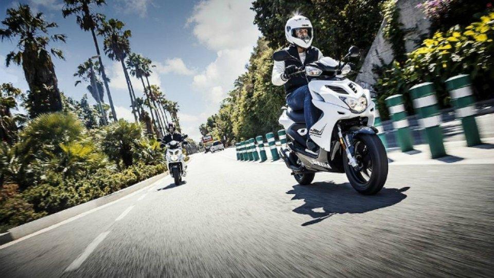 Moto - News: Cinque scooter 50cc per la promozione