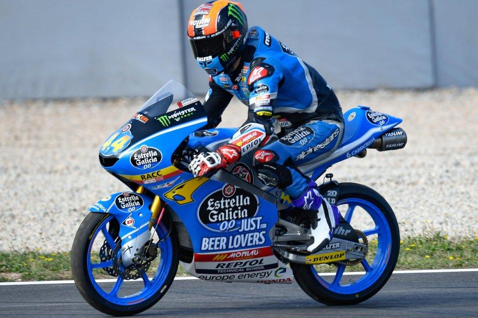 Moto3: FP3: Canet il più veloce, 4° Bastianini