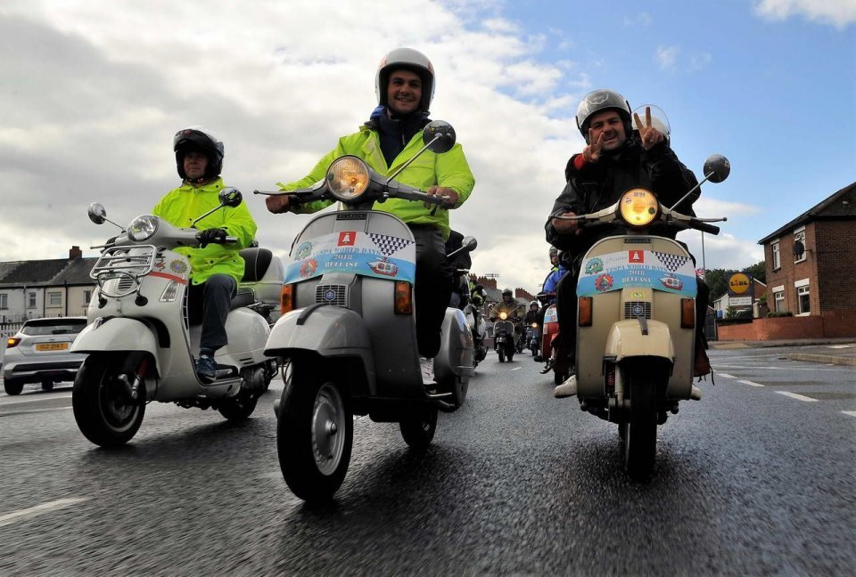 Moto - News: Vespa Wolrd Days 2019: a Belfast, un successo annunciato