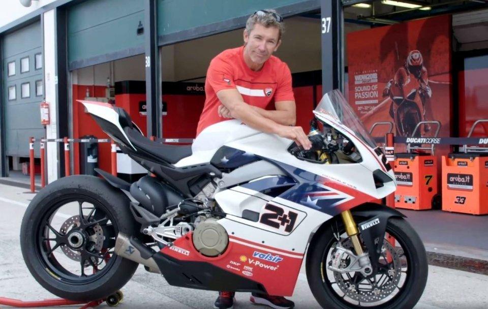 Moto - News: Race of Champions: oltre 120.000 euro per la V4S di Bayliss