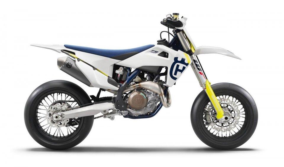 Moto - News: Husqvarna FS 450 2019: sempre più performante, ha 63 CV