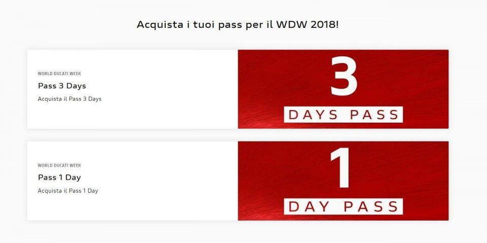 Moto - News: WDW 2018: tutto quello che c'è da sapere sui PASS