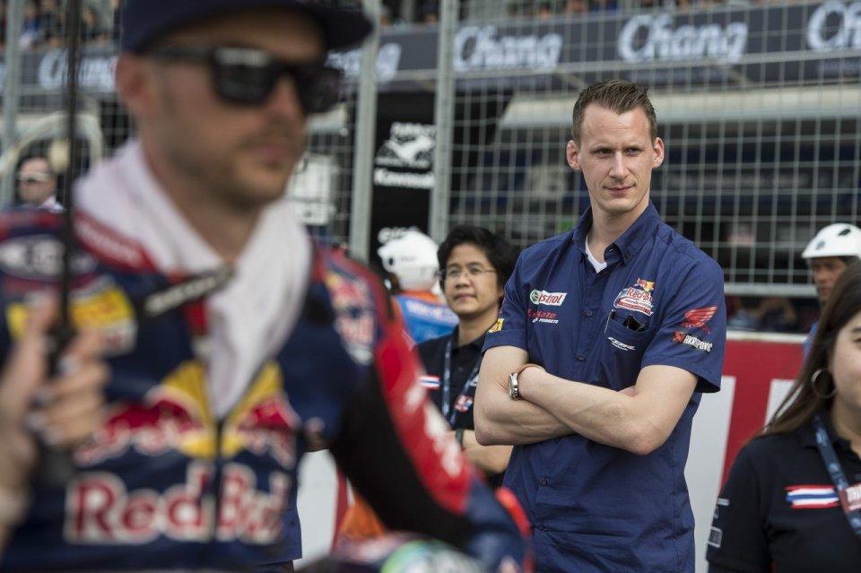 SBK: Honda: Sykes e van der Mark nomi forti per il 2019