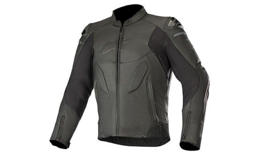 Moto - News: Alpinestars Caliber, la nuova giacca di pelle sportiva