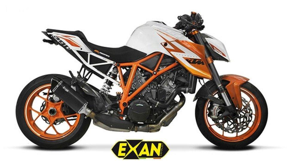 Moto - News: Exan, due nuovi scarichi per KTM Super Duke 1290 R