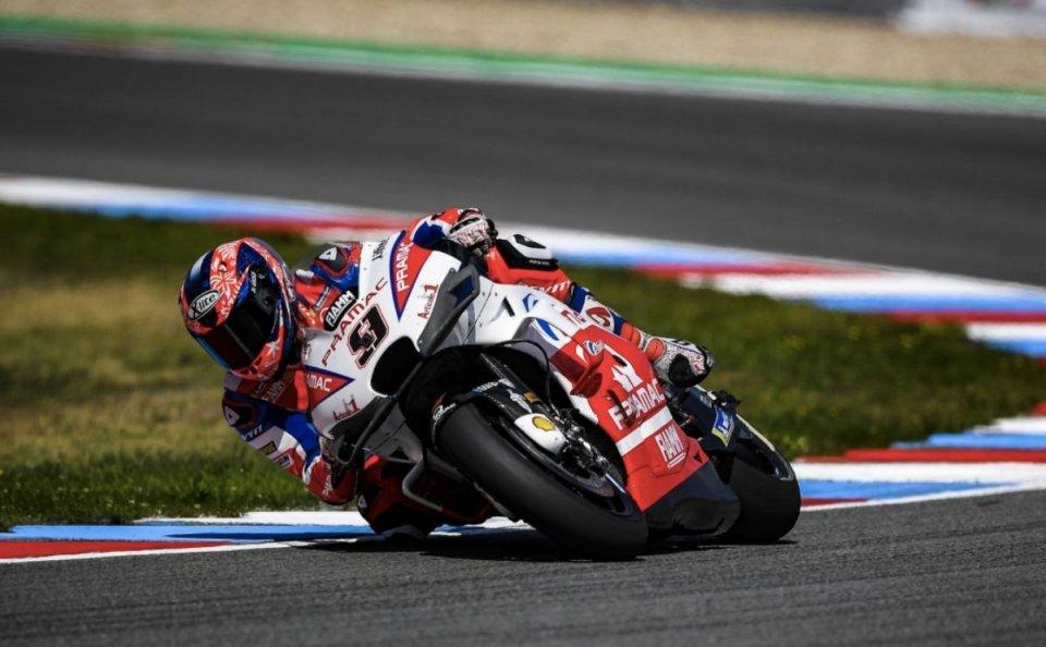 """MotoGP: Petrucci: """"la nuova carena non ha punti deboli"""""""