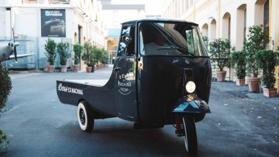 Moto - News: Ape è partner ufficiale di Deus Cyclewine