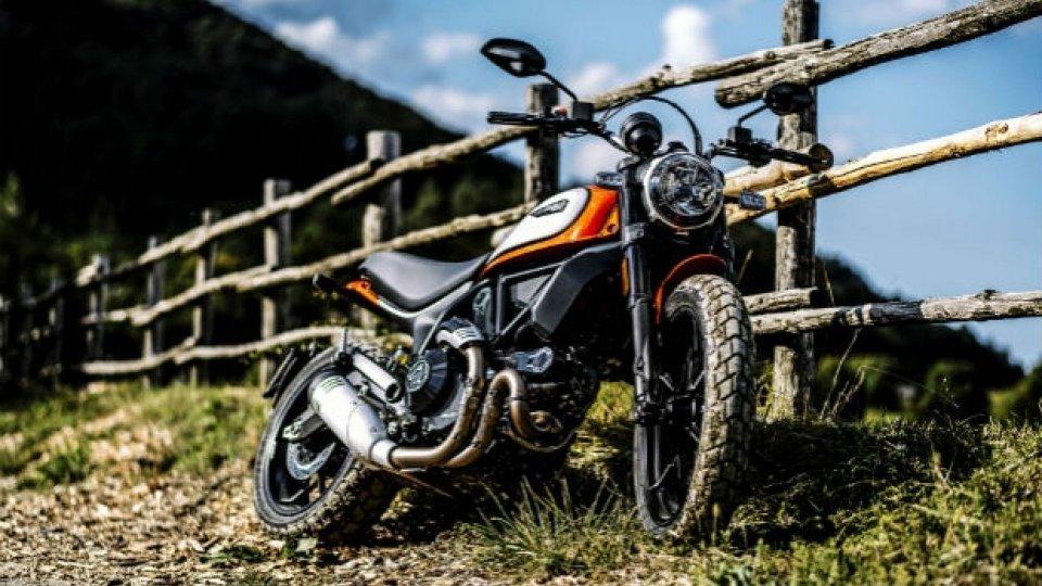 Moto - News: Ducati, ecco la nuova Scrambler Icon [VIDEO]