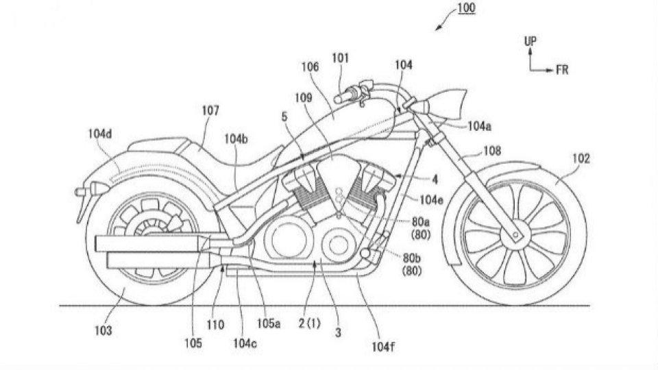 Moto - News: Honda: in arrivo un cruiser con il DCT?