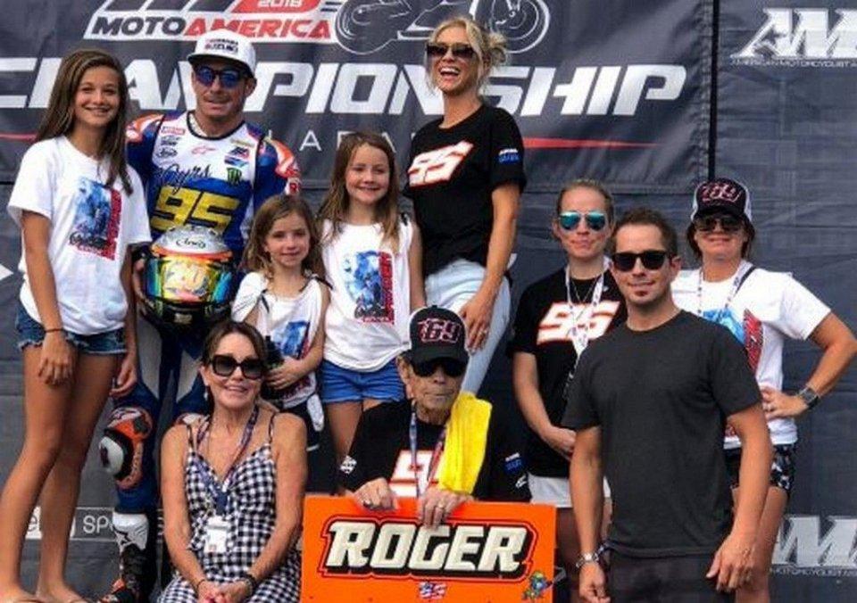 MotoAmerica: La famiglia Hayden unita per l'ultima volta di Roger Lee