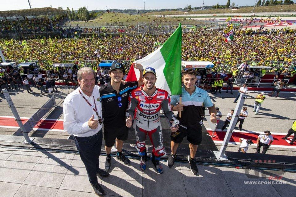MotoGP: L'Italia ad Aragon per toccare quota 800 vittorie