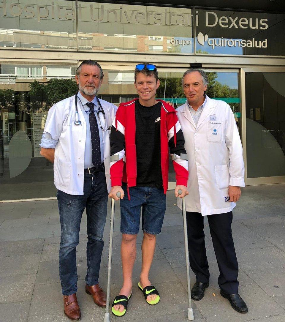 MotoGP: Tito Rabat lascia l'ospedale