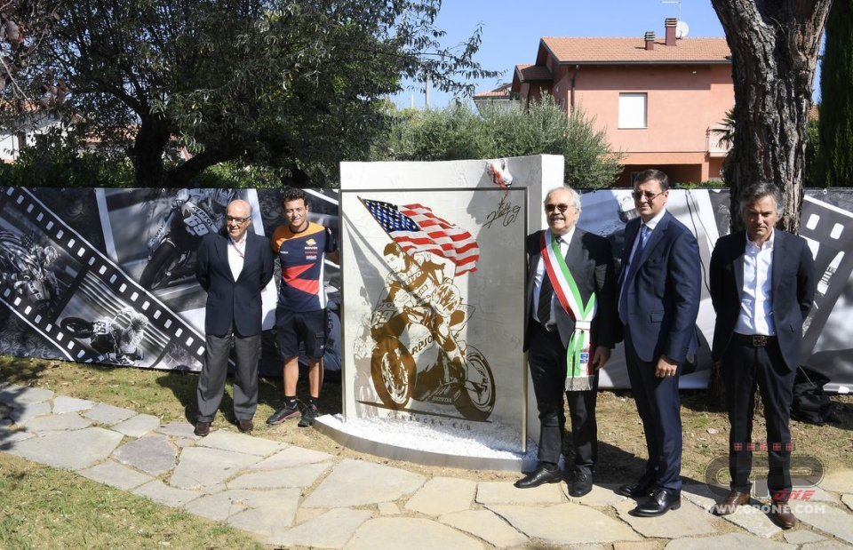 MotoGP: Inaugurato il giardino dedicato a Nicky Hayden