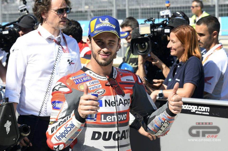 """MotoGP: Dovizioso: """"Ducati sta facendo preoccupare Marquez"""""""