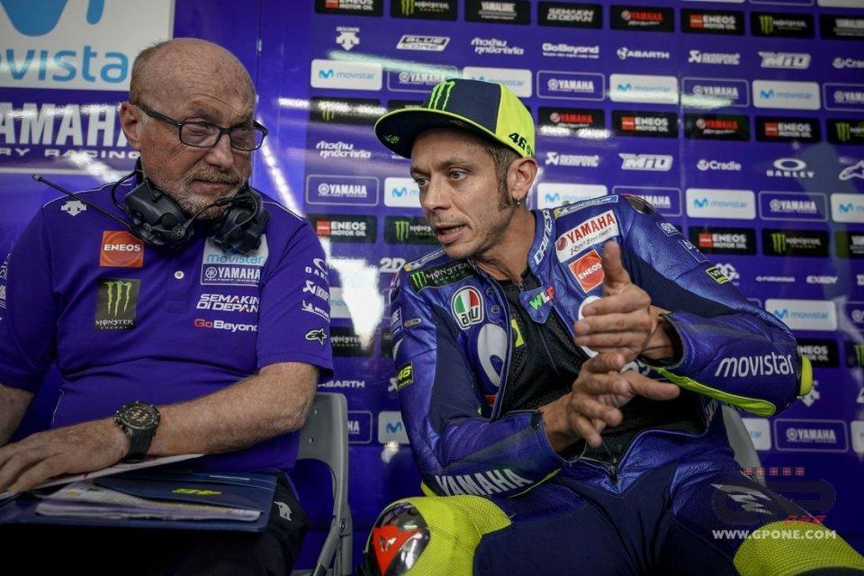 """MotoGP: Rossi: """"il futuro? Oggi il lavoro al box non serve a nulla"""""""