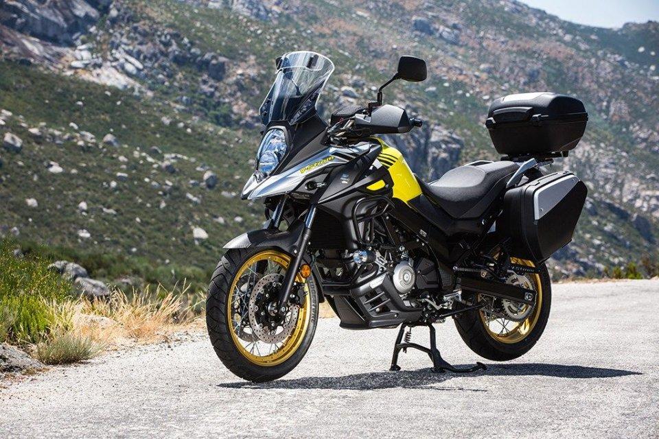 Moto - News: Promozioni d'autunno: Suzuki si fa in tre