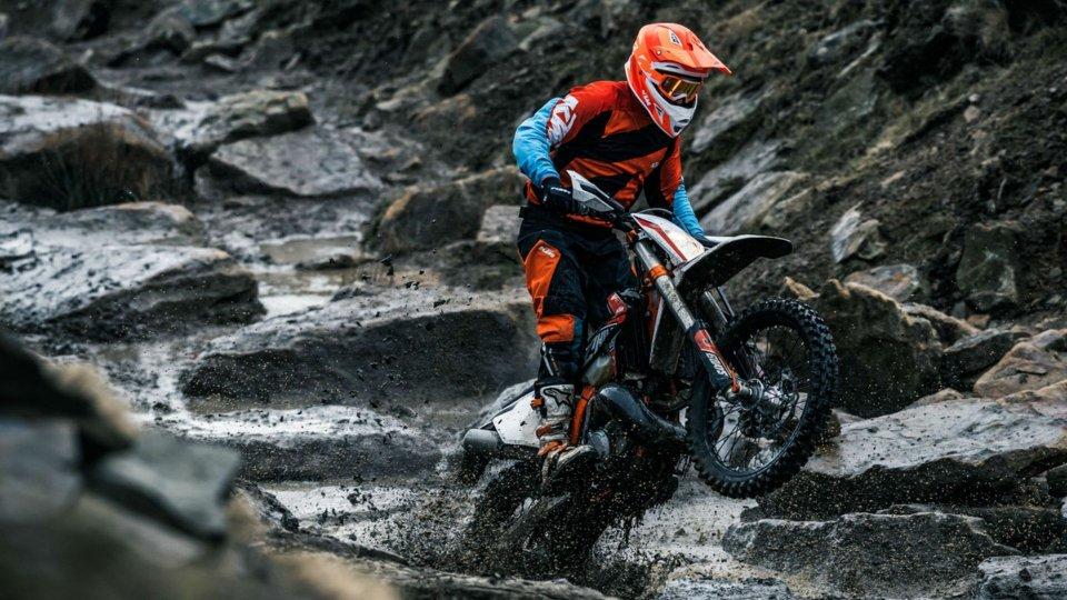 Moto - News: KTM Muddy Winter, promozione sui modelli Enduro