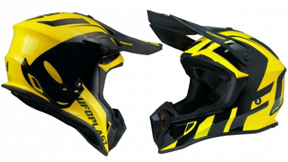 Moto - News: Ufo Plast Quiver, il nuovo casco per off-road