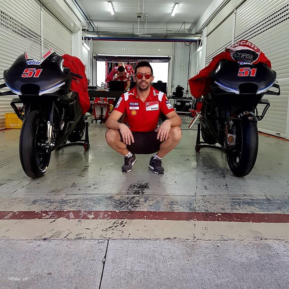"""MotoGP: Michele Pirro """"unveils"""" the 2019 Ducati"""