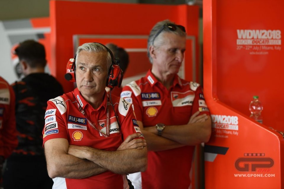 "MotoGP: Tardozzi: ""For Ducati the future is Dovizioso, not Marquez"""