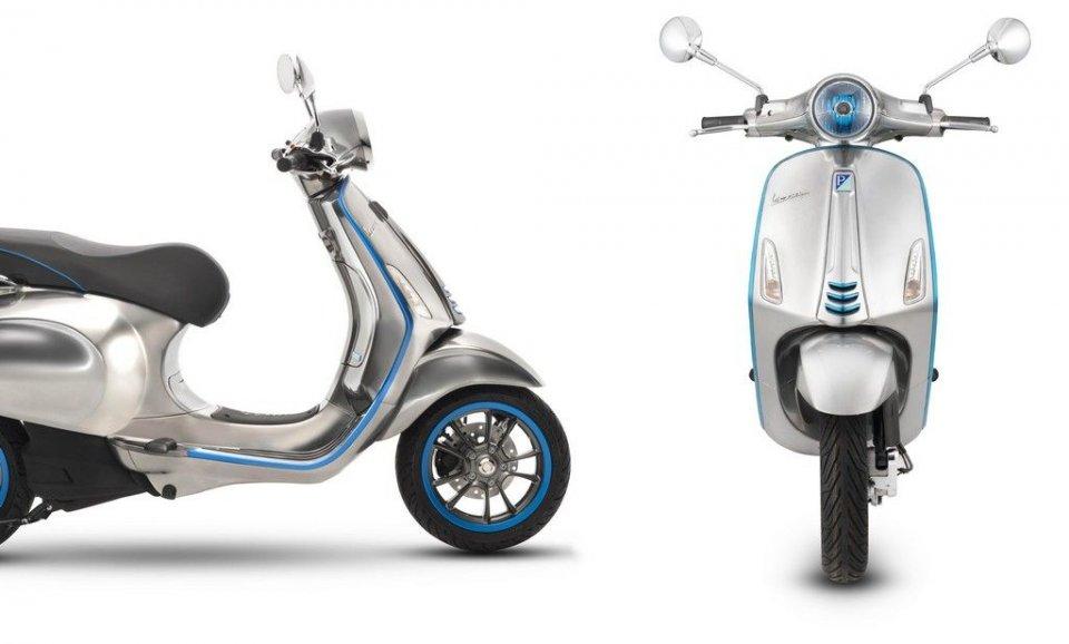 Moto - Scooter: Vespa: la rivoluzione Elettrica arriva sul mercato