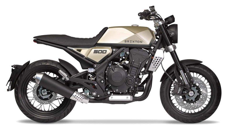 Moto - News: Brixton Motorcycles, nel 2019 arriva il bicilindrico