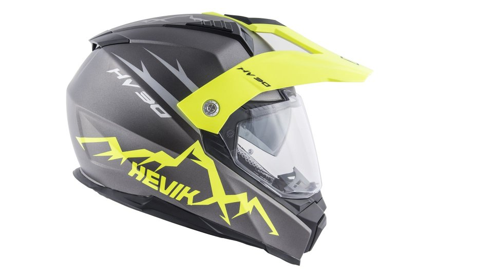 Moto - News: Hevik HV30 Montauk, il primo casco integrale