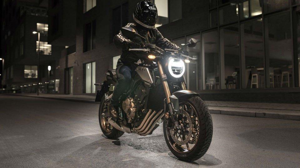 Moto - News: Honda CB650R in azione [VIDEO]